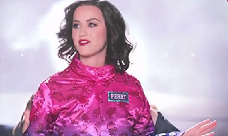 Katy Perry se suma a la lista de otros solistas que han pisado el escenario del Super Bowl. (Foto: tomada de YouTube/Pepsi )