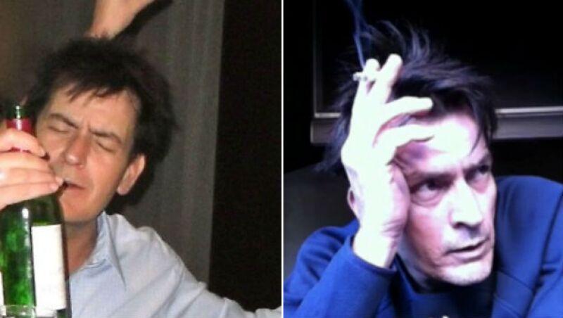 Charlie Sheen ha vivido rodeado de excesos durante muchos años.