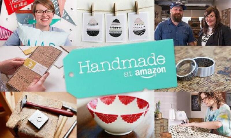 Un mercado artesanal aumentará el papel de Amazon como intermediario para terceros vendedores. (Foto: Tomada de amazon.com)
