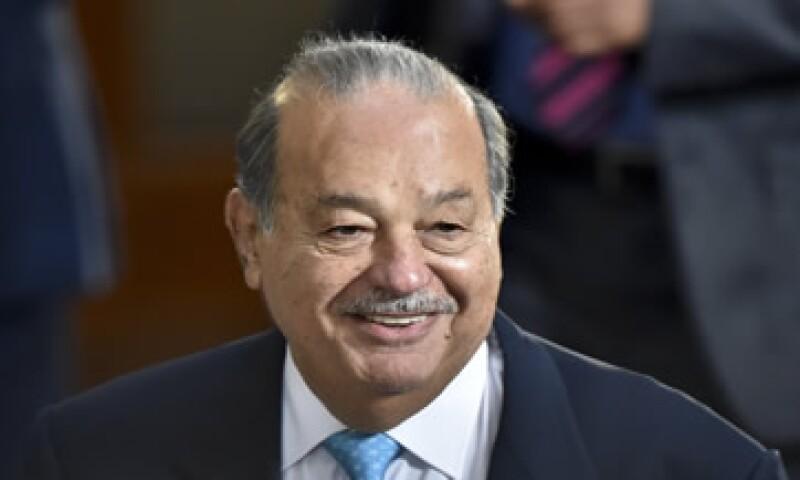 Carlos Slim controlaría Realia a través de su participación directa de 25%.  (Foto: Reuters )