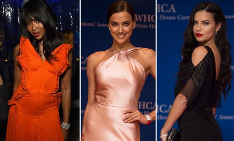 Las guapas modelos invadieron la Casa Blanca con su belleza y sensualidad.