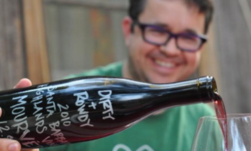 Hardy Wallace tomó mucho riesgo en la fabricación de su vino, pero ha tenido éxito. (Foto: Cortesía de Fortune)