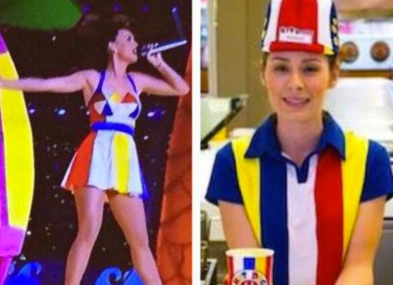 Esta chica se ve identica a Katy en su show.