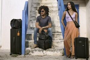 Lenny con Zöe en las Bahamas