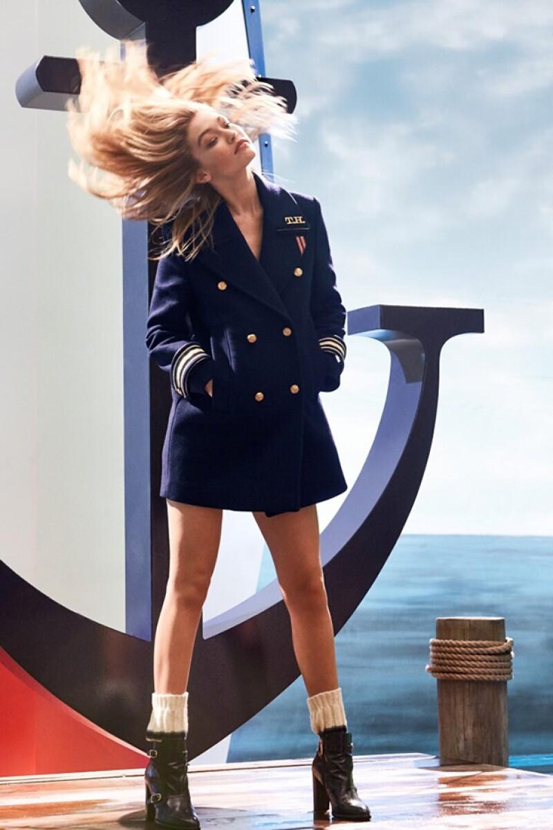 Gigi won&#39t stop. La modelo nos vuelve a sorprender con su más reciente proyecto en colaboración con la firma americana.