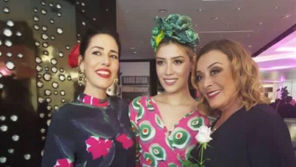 Stephanie, Michelle Salas y Sylvia Pasquel