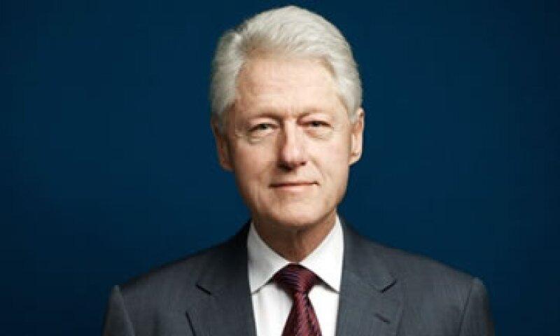 Bill Clinton asegura que Nelson Mandela e Isaac Rabin fueron buenos modelos para él. (Foto: Cortesía de Fortune/Wesley Mann)