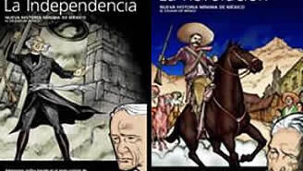 Las ilustraciones de los libros fueron realizadas por Jorge Aviña y Pepeto. (Foto: Cortesía Editorial Turner)