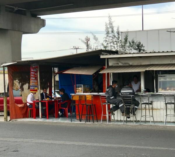 Alrededores de planta VW Puebla