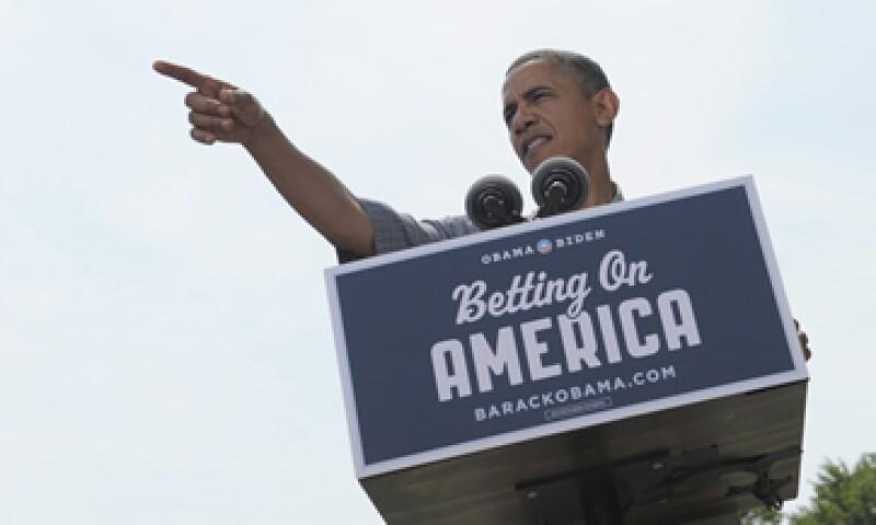 El acto fue el primer evento de campaña desde que la Corte Suprema falló hace una semana en favor de su reforma al sistema de salud pública. (Foto: AP)
