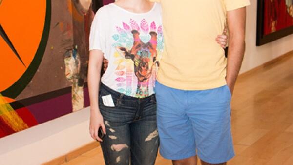 Isaac Pérez y Daniela González.
