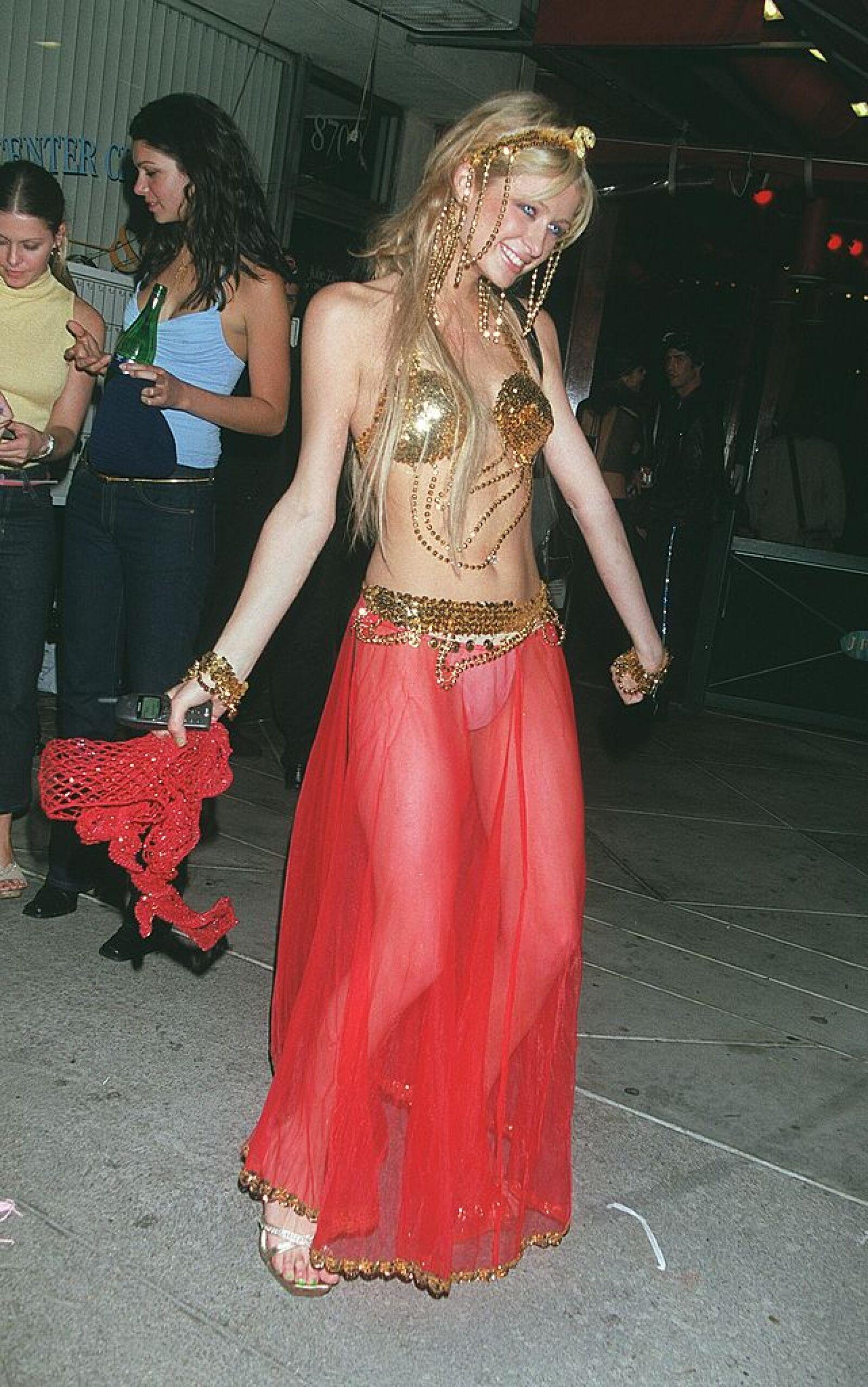 Paris Hilton Halloween Costume Party