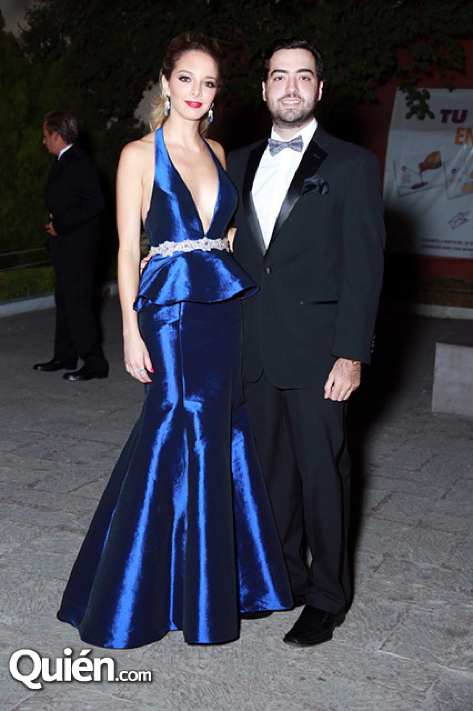 Angie Andonie y José González.