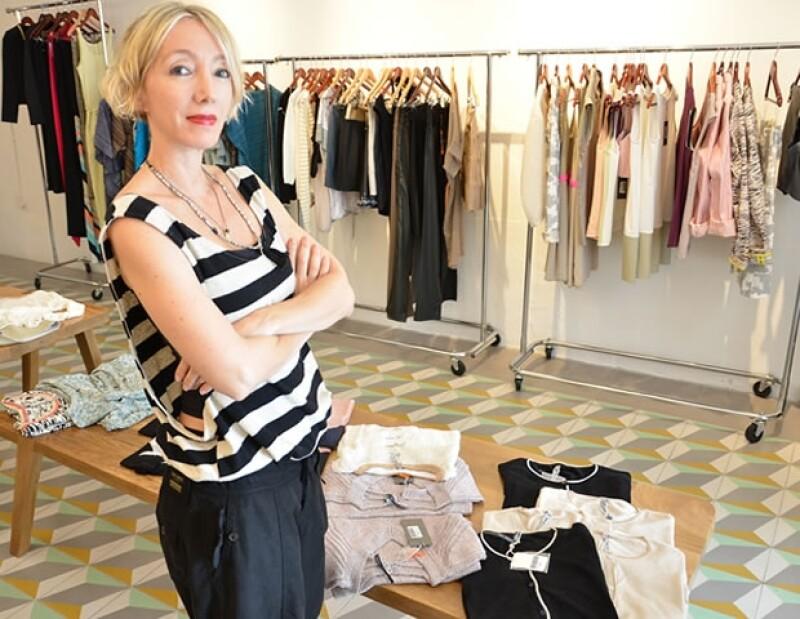 Sandra cree que la moda es una expresión y que nada tiene que ver con la frivolidad.