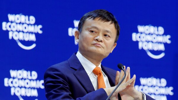 FILE PHOTO: Jack Ma, Executive Chairman of Alibaba Group Holding, attends the World Economic Forum (WEF) annual meeting in Davos