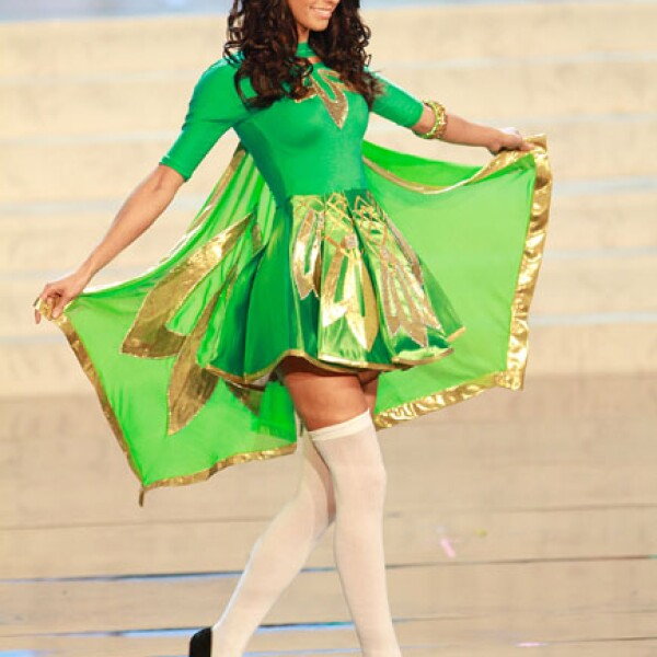 Miss Irlanda,  Adrienne Murphy.