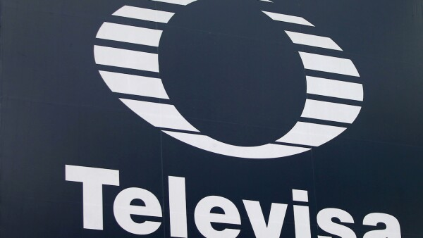 FILE PHOTO: The logo of broadcaster Televisa is seen outside its headquarters in Mexico City