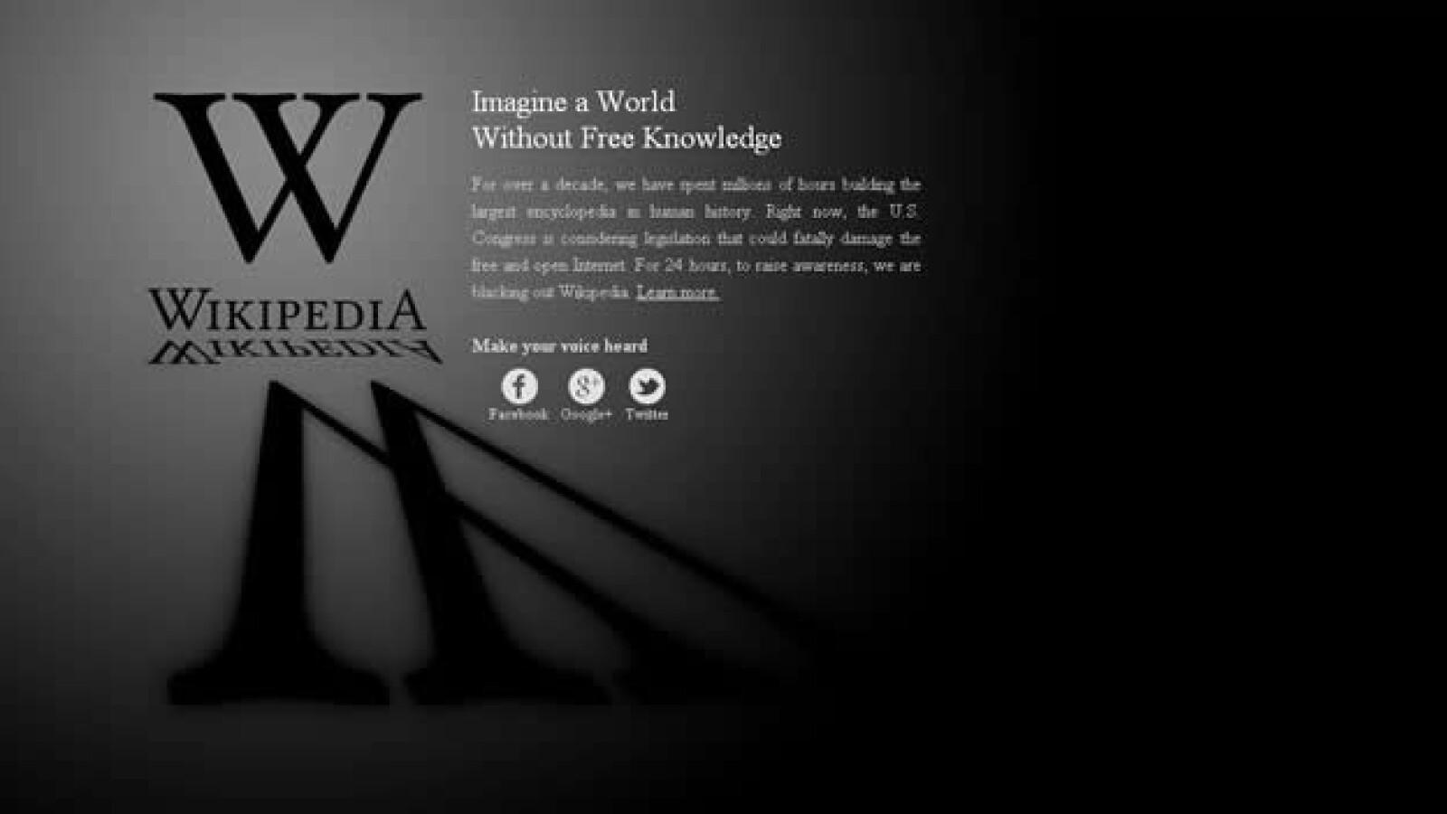 wikipedia ingles apagon sopa