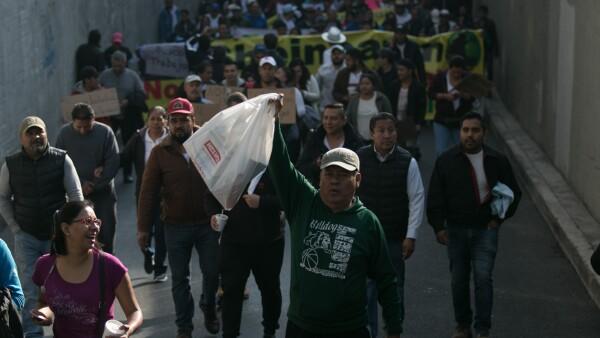 Protesta por bolsas 2
