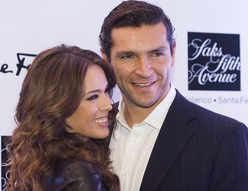 Jacky aseguró que el nacimiento de su hija ha cambiado mucho a su marido, pues en todo momento desea estar con ella.