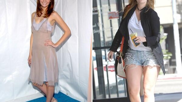 """Jessica Simpson, Khloé Kardashian, Kelly Clarkson, Mischa Barton y Christina Aguilera, son algunas famosas que han batallado por el famoso """"rebote"""". Ve sus transformaciones."""