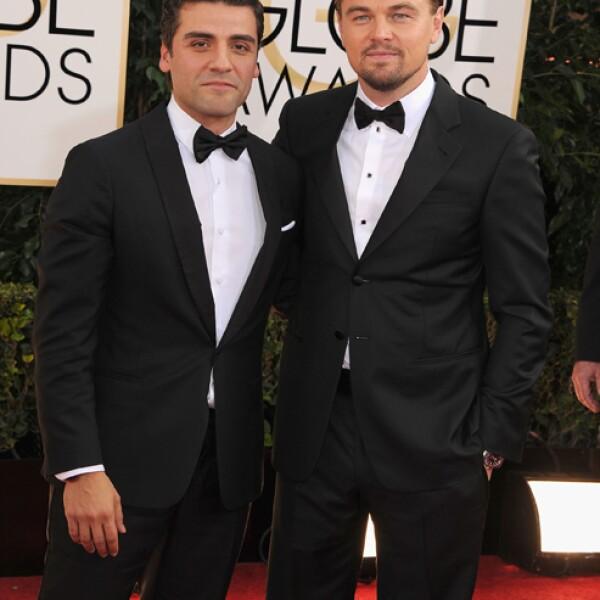 Di Caprio y Oscar Isaac. Dos nominados que no tienen ninguna rivalidad.