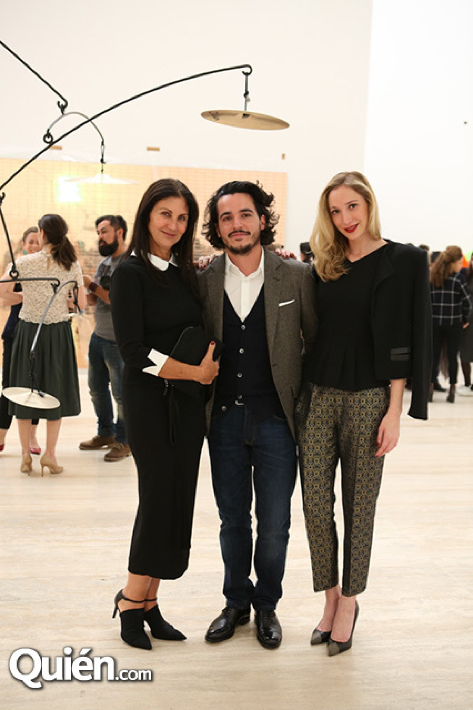Pamela Barish,André Freumond y Lilian Filio