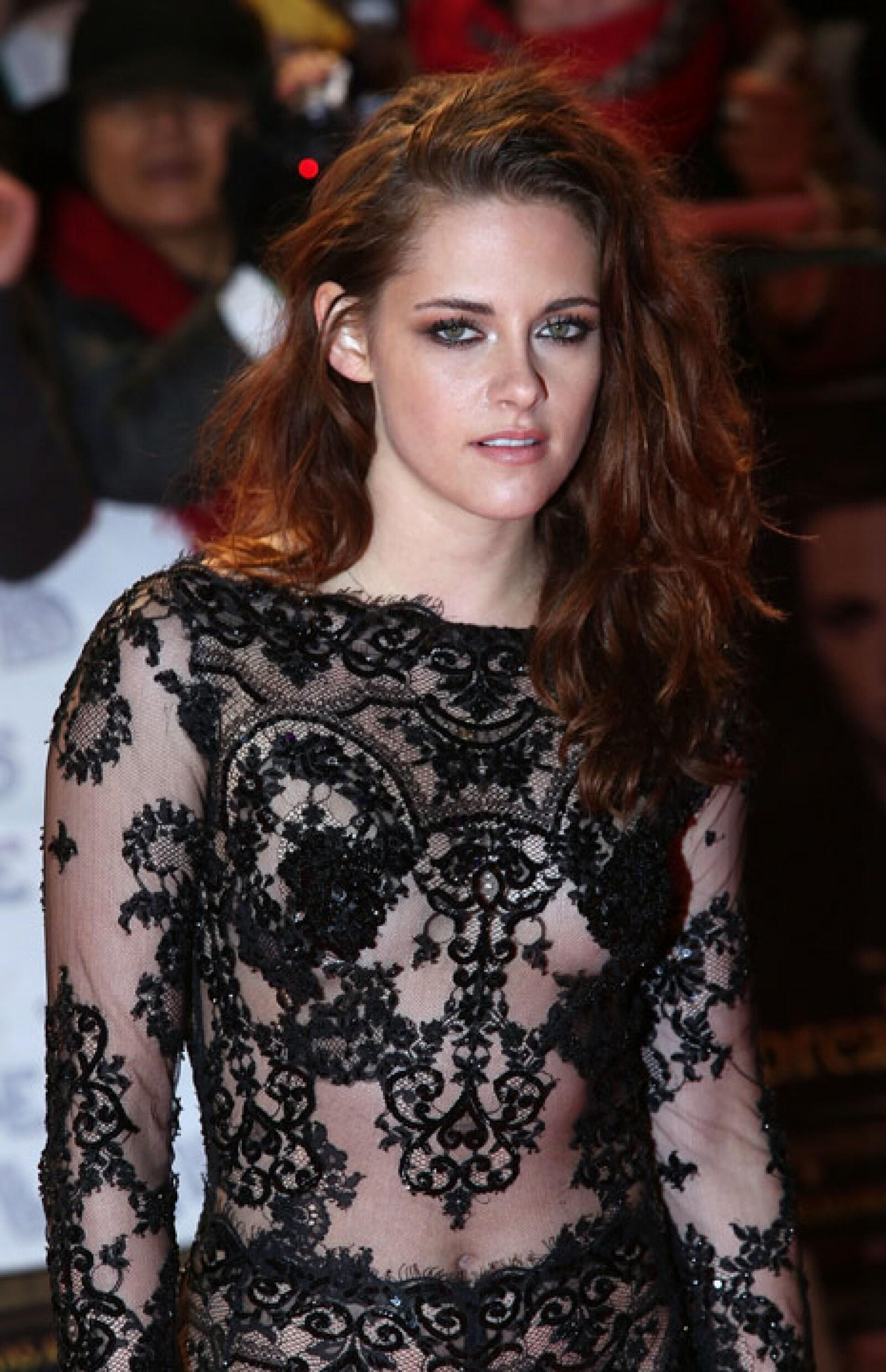 Kristen empezó en la saga cuando tenía 18 años de edad.