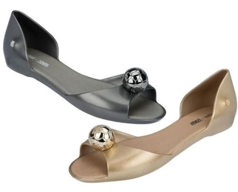 Encuentra estos originales zapatos en la boutique Melissa en Parque Duraznos.