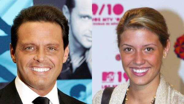 Luis Miguel y Michelle Salas tuvieron su primer encuentro como padre e hija en 2008.