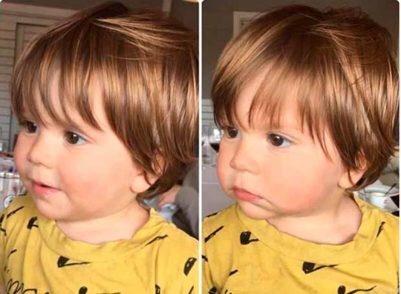 La cantante colombiana publicó una foto de su hijo menor, quien cada día es más parecido a su hermano Milan.
