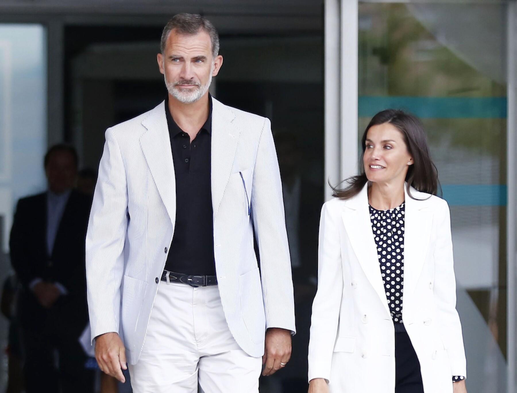Personalities Visit King Juan Carlos At Hospital