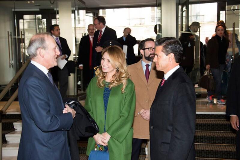El presidente mexicano se reunirá también con el primer ministro británico, David Cameron y con Ed Miliband, líder de la oposición y dirigente del Partido Laborist.