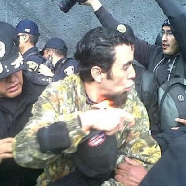 Manifestacion de YoSoy132 contra la reforma energética