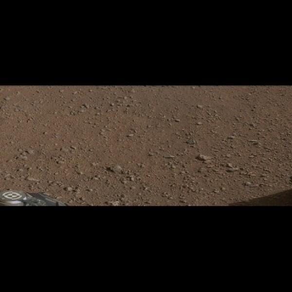 Curiosity Marte roca laser