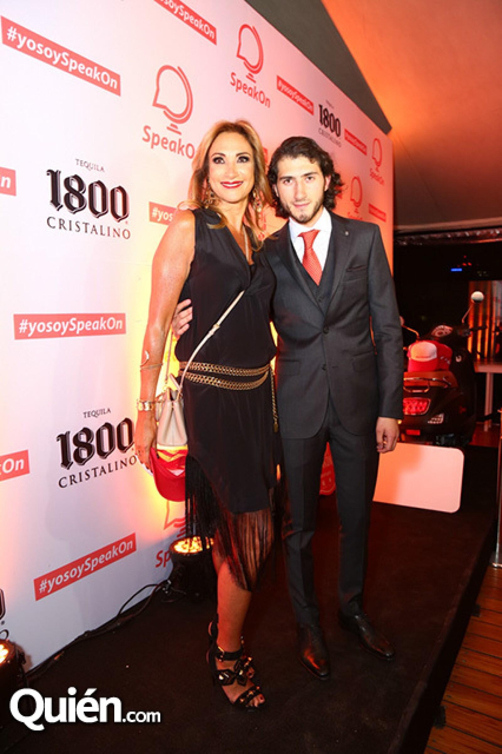 Adela Micha y Carlos Gotlib