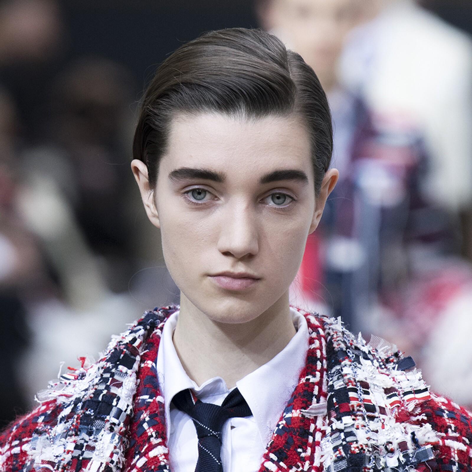 PFW-Paris-Fashion-Week-Runway-Pasarela-Beauty-Look-Belleza-Thome-Browne