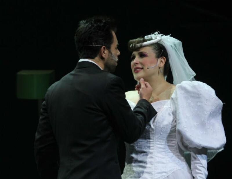 """La actriz se despidió la noche del viernes del musical """"Mentiras"""" para dedicarse a la llegada de su segundo hijo."""
