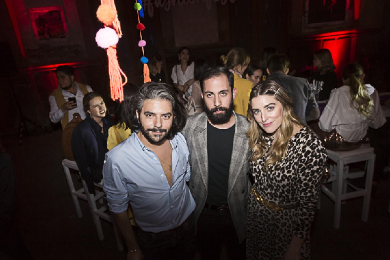 AlexCordova, Armando Trucios, Sofia Lascurain