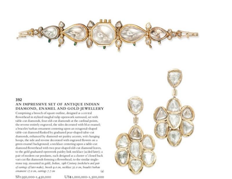 La casa Chrisstie&#39s pondrá a disposición de coleccionistas un lote de collares y aretes que pertenecieron a la actriz mexicana.