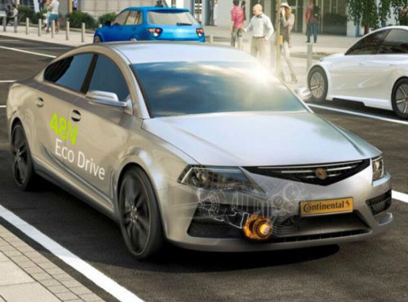 Continental nueva tecnolog�a para autos
