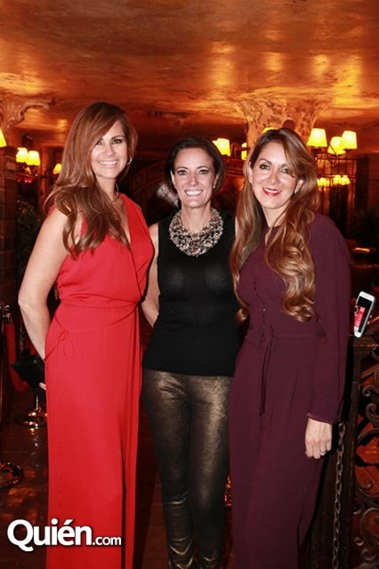 Luz Blanchet,Maby Álvarez y Mari Rouss Sandhú