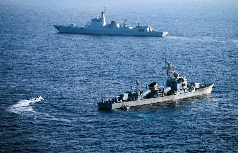 La ONU señala que China ocupa ilegalmernte parte de la zona marítima de Filipinas.