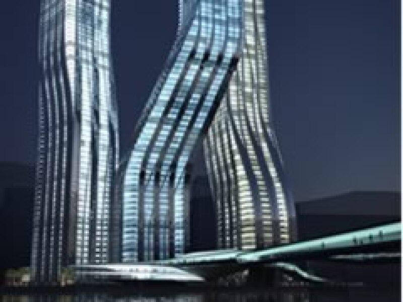 El proyecto contará con oficinas, viviendas y zonas comerciales. (Foto: Cortesía Zaha Hadid Architects.)