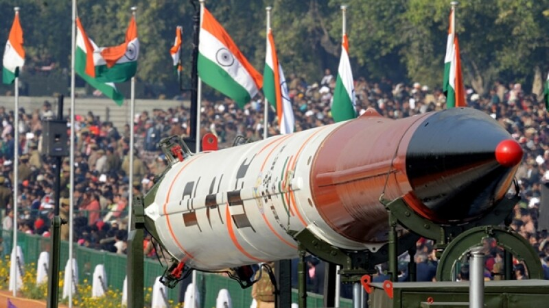 Agni IV India misil desfile día de la república