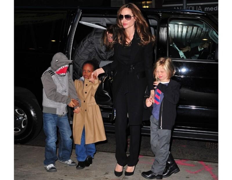 Todo parece indicar que Brad y Angelina se casarán próximamente en Los Ángeles, donde su hija de ocho años podría tener uno de los papeles más importantes.