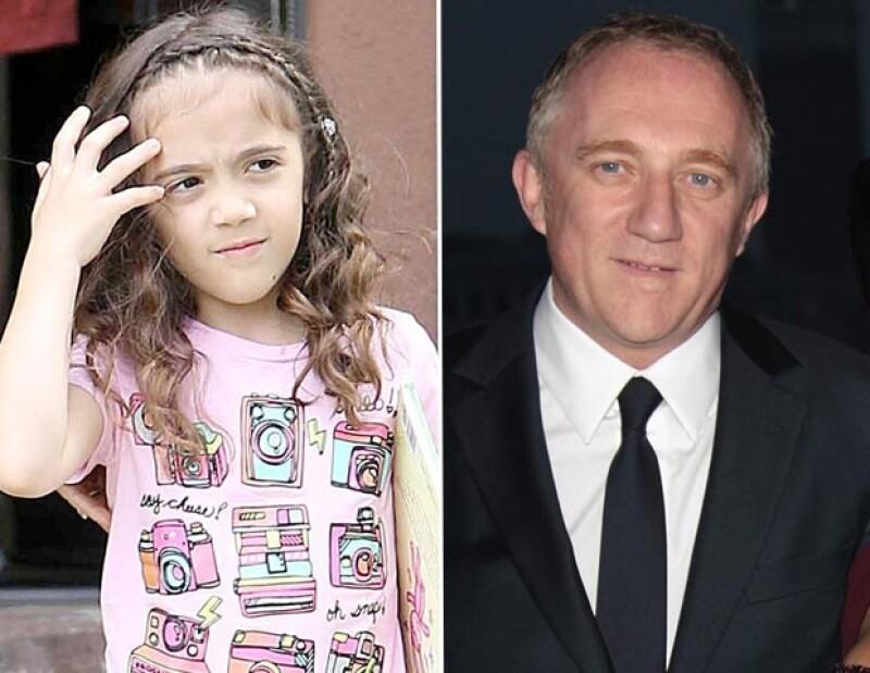 Es evidente el parecido de Valentina Paloma con su papá. La forma de sus ojos, boca y nariz es similar.
