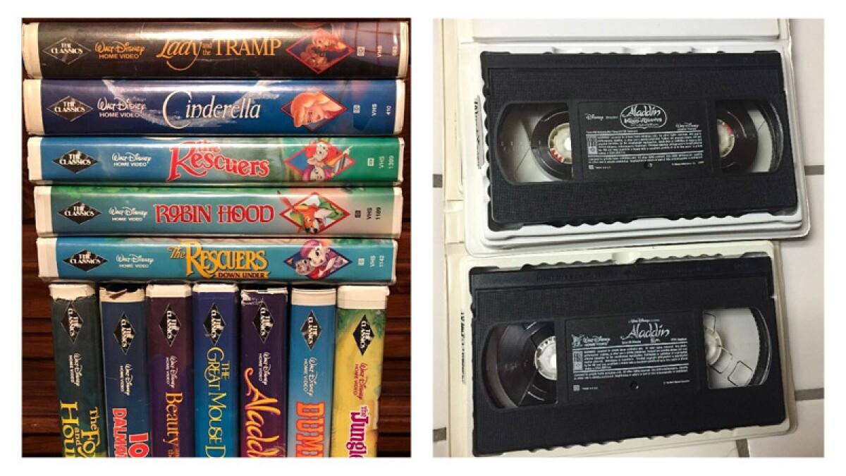 Tus VHS de Disney pueden valer una fortuna
