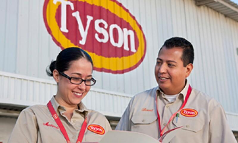 Tyson estima que la fusión significará un ahorro combinado de 300 mdd. (Foto: tomada de www.tysonfoods.com)
