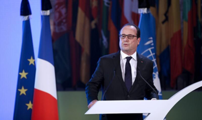 El presidente francés señaló que luchará contra el terrorismo yihadista. (Foto: EFE/Archivo)